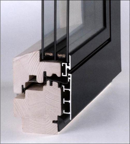 holz alu flat 96 excel avs haderer montagen. Black Bedroom Furniture Sets. Home Design Ideas